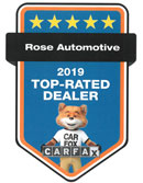 Top Rated Dealer - CARFAX